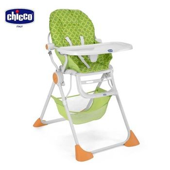 chicco-Pocket Lunch 輕巧高腳餐椅-翠綠