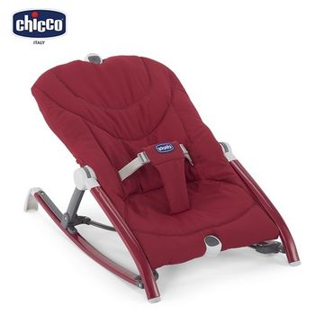 chicco-Pocket Relax安撫搖椅-野莓紅