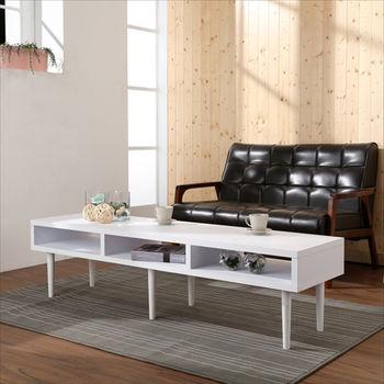 BuyJM環保低甲醛厚板5尺電視櫃/茶几(兩色可選)