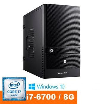 Genuine 捷元 Avbody G15A-8P i7-6700四核 8GB DDR4記憶體 Win10 桌上型電腦