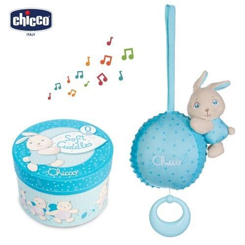 chicco-粉藍兔兔晚安音樂鈴禮盒