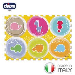 chicco-可愛動物拼貼地墊(6片裝)