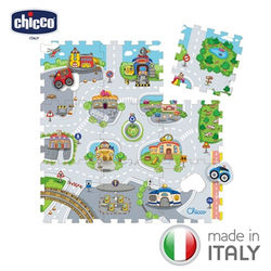 chicco-都會城市拼貼地墊-9片裝