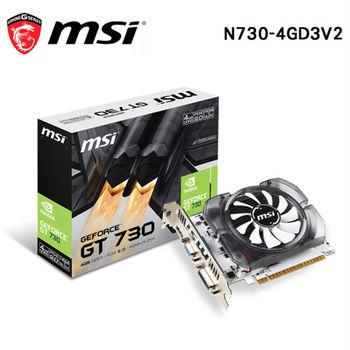 MSI 微星 N730-4GD3V2 DDR3 4G 顯示卡