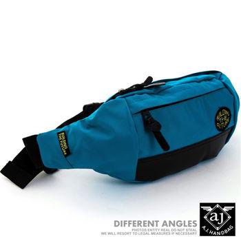 【AJ.亞介】輕量系列 樂活單車包 隨身腰包 單肩包 淺藍色  (UE8023)