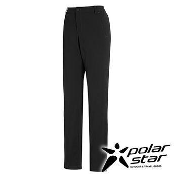 PolarStar 彈性抗UV休閒窄管褲 女『黑』  P16326  顯瘦直筒褲 西裝褲 休閒 露營 戶外 防曬
