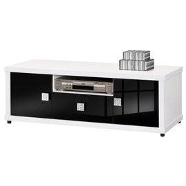 【時尚屋】[UZ6]米蘭4尺白色電視櫃UZ6-241-3