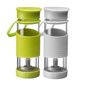 【AKWATEK】泡茶玻璃隨享瓶400ml (AK-02011)