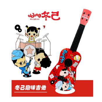 【孩子國】韓國冬己娃娃 烏克麗麗/小吉他玩具