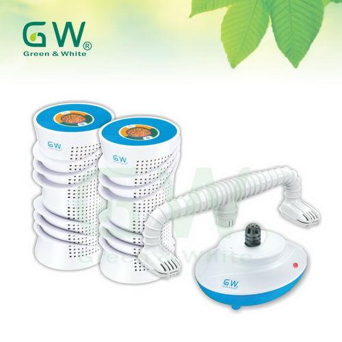 GW 水玻璃 分離式除濕機4件組