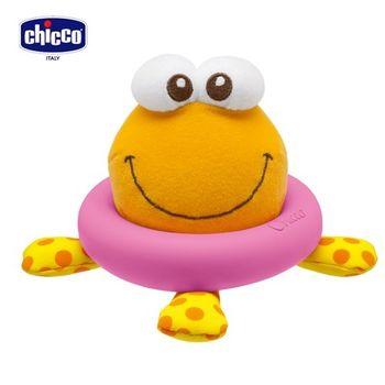 chicco-神奇感溫章魚洗澡玩具