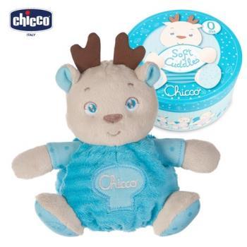 chicco-粉藍馴鹿安心擁抱甜蜜禮盒