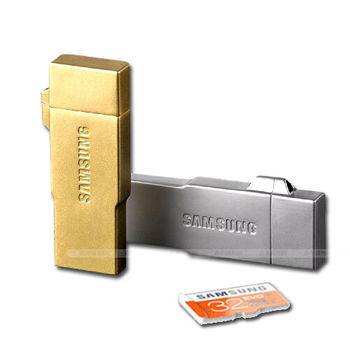 Samsung Metal 32GB OTG 隨身碟(OTG  USB  Card 3合1)