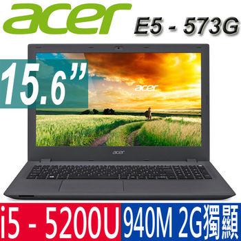 ACER 宏碁  E5-573G-5322  15.6吋  i5-5200U  940M 2G獨顯  平民效能筆電