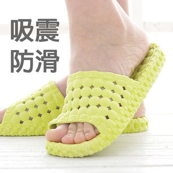 韓版超柔浴室瀝水防滑拖鞋 (女款)- 1雙入