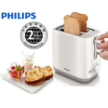 PHILIPS 飛利浦烤麵包機 電子式智慧型厚片 (HD-2595)