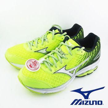 【Mizuno 美津濃】 WAVE RIDER 19 男慢跑鞋 J1GC160405