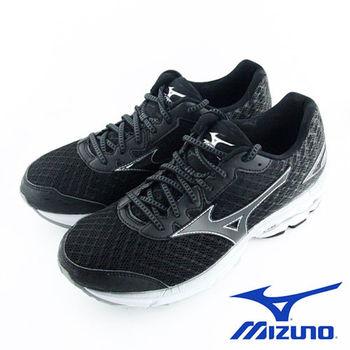 【Mizuno 美津濃】 WAVE RIDER 19 男慢跑鞋 J1GC160311