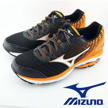 【Mizuno 美津濃】 WAVE RIDER 19 男慢跑鞋 J1GC160303