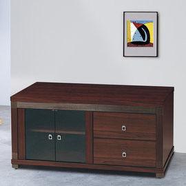 【時尚屋】[UZ6]吉星胡桃4尺電視櫃UZ6-244-6