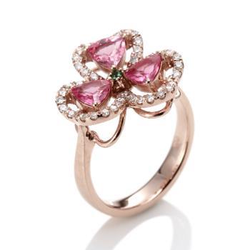 Dolly 閃耀尖晶石美鑽戒