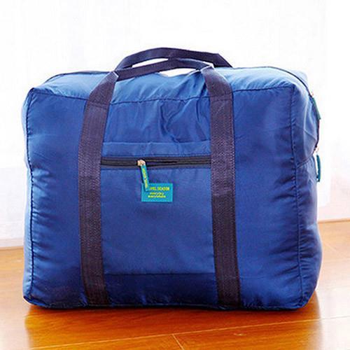 【旅遊首選、旅行用品】素色折疊大容量多功能旅行拉桿收納袋/收納包