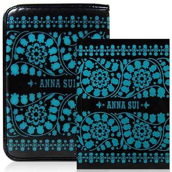 ANNA SUI 安娜蘇 魔法心願筆記包 綠色版 內含記事本1份