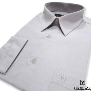 Valentino Rudy范倫鐵諾.路迪 長袖襯衫-灰色絲質  零碼出清
