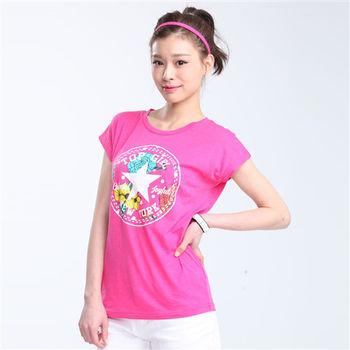 【TOP GIRL】印花星星圓領T恤-共二色