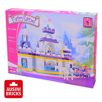 【AUSINI 奧斯尼積木】仙境系列-夢幻城堡 24806