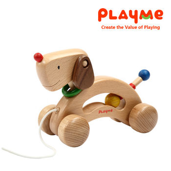PlayMe妞妞狗~可愛狗狗拖拉玩具
