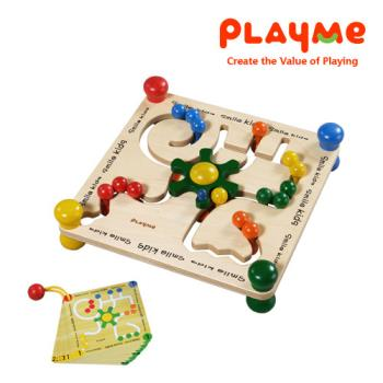 PlayMe轉盤迷宮~邏輯推理益智玩具