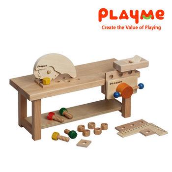 【PlayMe】PlayMe工作檯~小木工體驗玩具