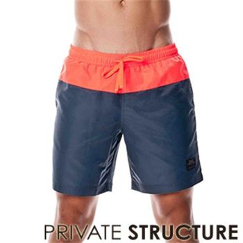 【P.S】雙色時尚搶眼休閒短褲(灰色)Private Structure