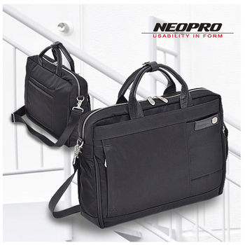【NEOPRO】日本機能包 薄款 手提 電腦公事包 尼龍 B4 日本實用新案PILLAR系列 男女兼用【2-160】