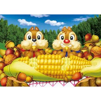 【日本TENYO】迪士尼透光拼圖-花栗鼠 快樂的下午 266pcs DSG-266-732