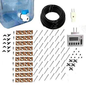 【灑水達人】20公升水桶沉水馬達式定時可調滴灌套裝系列