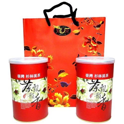 【龍源茶品】無毒『無焙火』杉林溪烏龍茶葉2罐組(150g/罐)-冬茶鮮摘