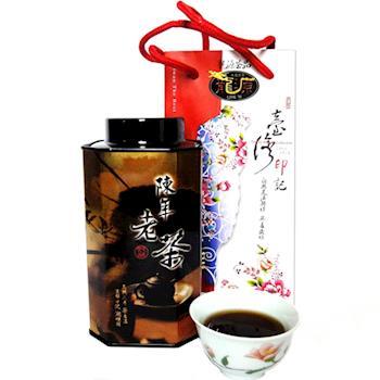 【龍源茶品】凍頂烏龍功夫陳年老茶葉1罐組(150g/罐)