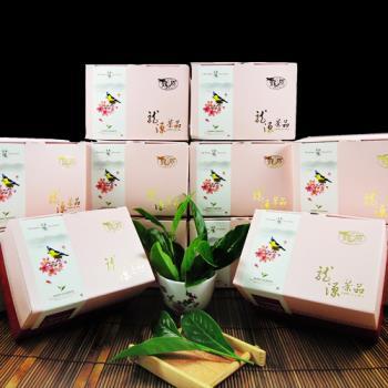 【龍源茶品】台灣黃山雀阿里山金萱茶12盒組(150g/盒) - 共1800g