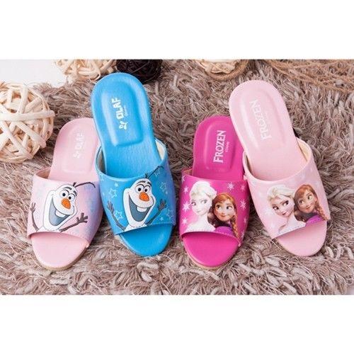 【蘿亞家居】迪士尼冰雪奇緣大人兒童室內拖鞋 (6雙特惠組)
