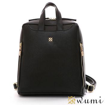 WuMi日韓  潔得十字紋後背包   共二色