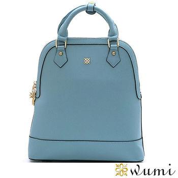 WuMi日韓 卡瑞蒂輕盈十字紋兩用後背包  共二色