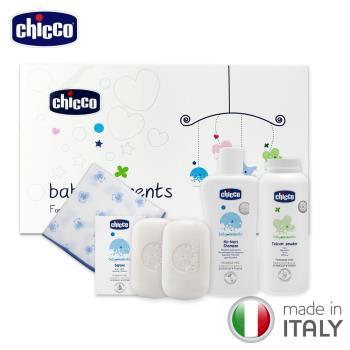 chicco-寶貝嬰兒沐浴澎澎禮盒