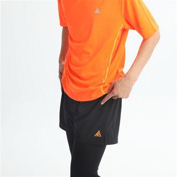 【FIVE UP】運動慢跑短褲-黑