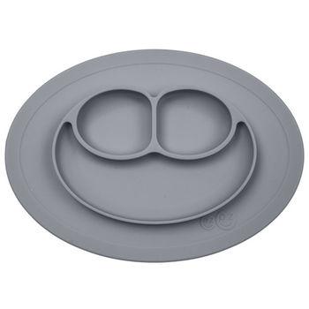 美國EZPZ矽膠防滑餐盤-簡約灰(迷你版)