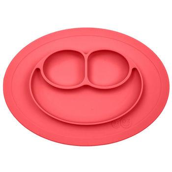 美國EZPZ矽膠防滑餐盤-珊瑚紅(迷你版)