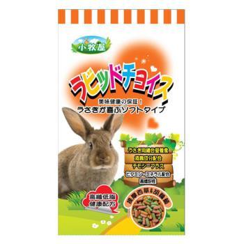 【小牧屋】提摩西草-胡蘿蔔口味 兔飼料 3公斤 X 1包