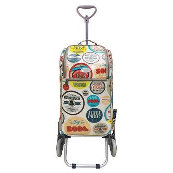 卡蘿輕便時尚購物車-30L三輪-美國廣告