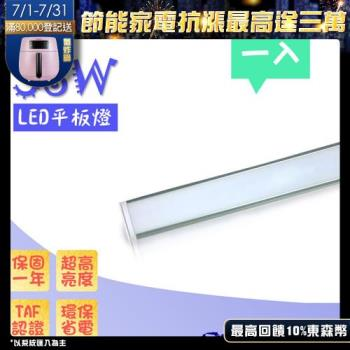 超薄型led吸頂燈 led平板燈 36W / 36瓦 led燈板 光通量 3194lm (白光) -1入